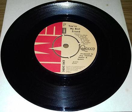 """Queen - You're My Best Friend (7"""", Single) (EMI)"""
