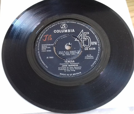 "John Burness - Theresa (7"", Single) (Columbia)"