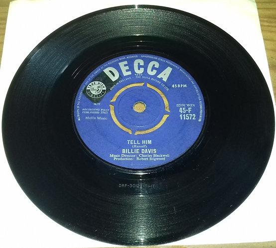 "Billie Davis - Tell Him (7"", Single) (Decca)"