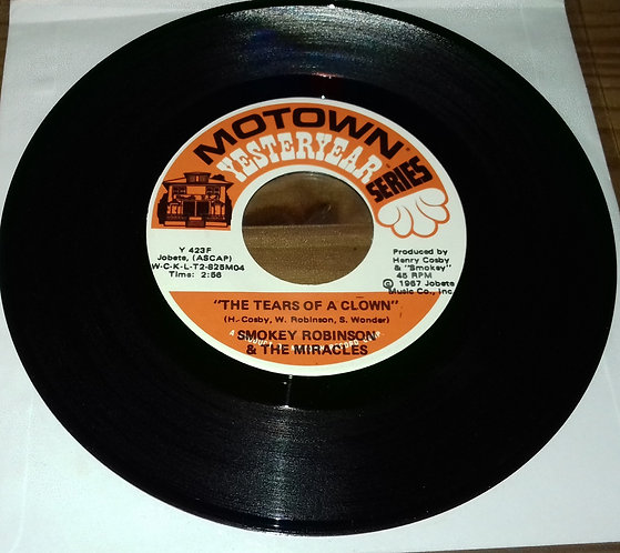 Smokey Robinson & The Miracles - The Tears Of A Clown / Who's Gonna Take The Bla