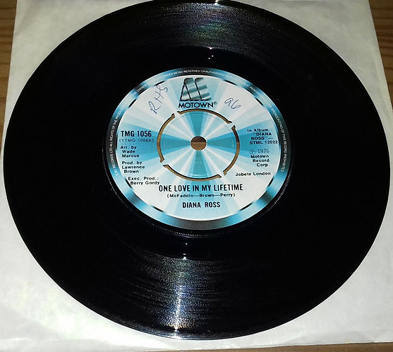 "Diana Ross - One Love In My Lifetime (7"", Single) (Motown)"