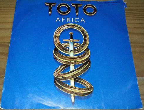 """Toto - Africa (7"""", Single, Sun) (CBS, CBS)"""