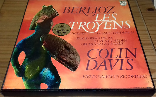 Berlioz* - Vickers*, Veasey*, Lindholm*, Royal Opera House Covent Garden Orchest
