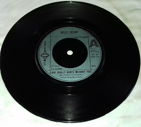 """Billy Ocean - Love Really Hurts Without You (7"""", Single) (GTO)"""