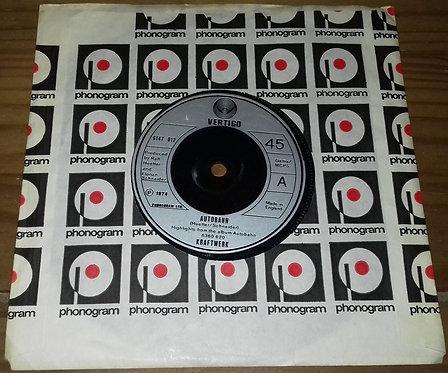 """Kraftwerk - Autobahn (7"""", Single, Inj) (Vertigo)"""