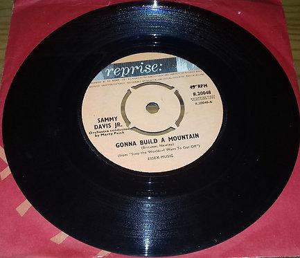 "Sammy Davis Jr. - Gonna Build A Mountain / What Kind Of Fool Am I (7"", Single)"
