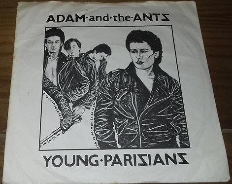 "Adam And The Ants - Young Parisians (7"", RE, Blu) (Decca, Decca)"