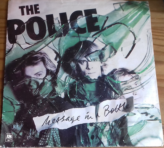 """The Police - Message In A Bottle (7"""", Single, Pic) (A&M Records)"""