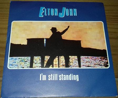 "Elton John - I'm Still Standing (7"", Single, Sol) (The Rocket Record Company, T"