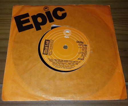 """Meat Loaf - You Took The Words Right Out Of My Mouth (7"""", Single, Sol) (Epic, C"""