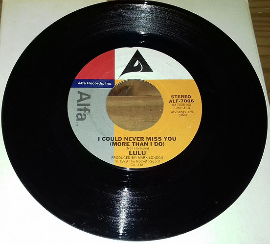 Lulu - I Could Never Miss You (More Than I Do) / Dance To The Feeling In Your He