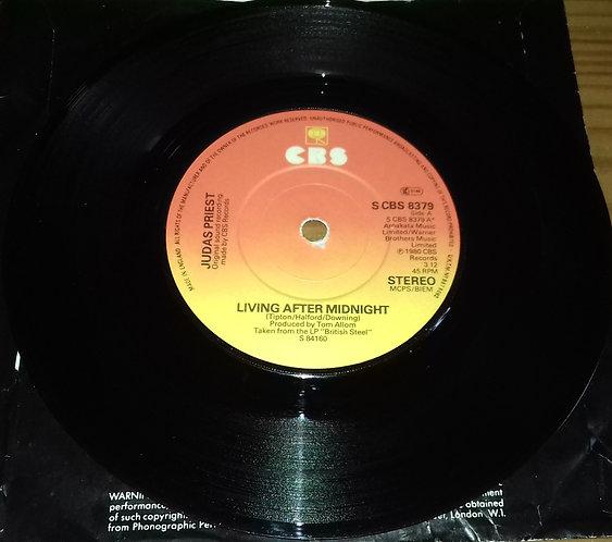 "Judas Priest - Living After Midnight (7"", Single) (CBS)"