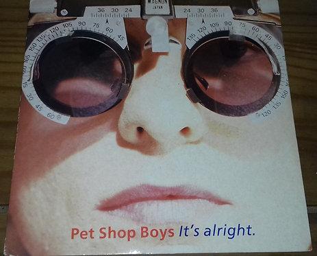 """Pet Shop Boys - It's Alright (7"""", Single) (Parlophone)"""