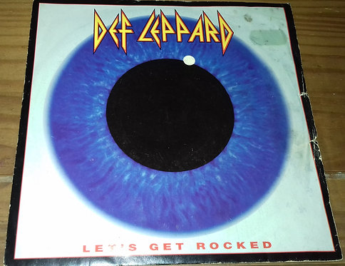 "Def Leppard - Let's Get Rocked (7"", Sil) (Bludgeon Riffola, Bludgeon Riffola)"