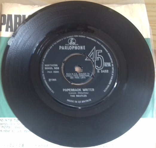 "The Beatles - Paperback Writer (7"", Single) (Parlophone)"