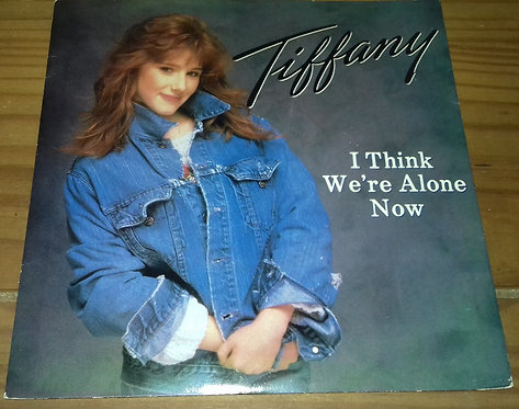 """Tiffany - I Think We're Alone Now (7"""", Single, Sil) (MCA Records)"""