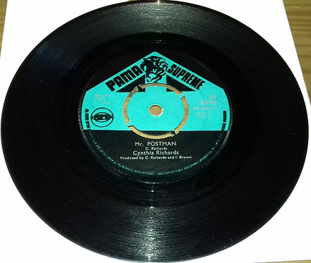 "Cynthia Richards / Skin Flesh And Bone* - Mr Postman (7"") (Pama Supreme)"
