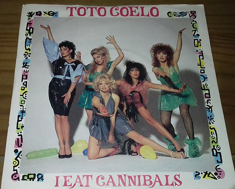 "Toto Coelo - I Eat Cannibals (7"") (Radialchoice, Virgin)"