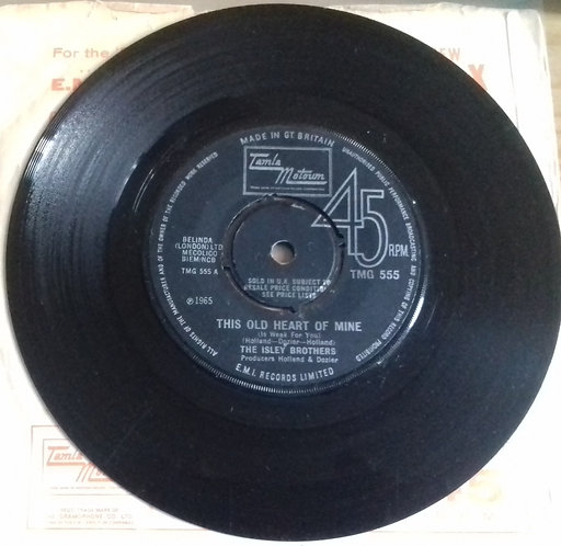 """The Isley Brothers - This Old Heart Of Mine (Is Weak For You) (7"""", Single, Mono,"""