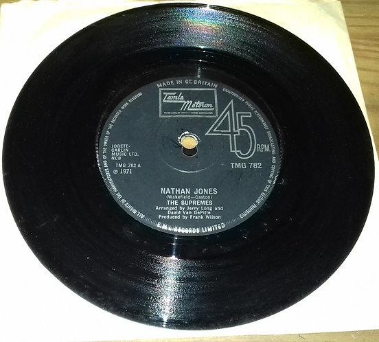 """The Supremes - Nathan Jones (7"""", Single, Sol) (Tamla Motown)"""