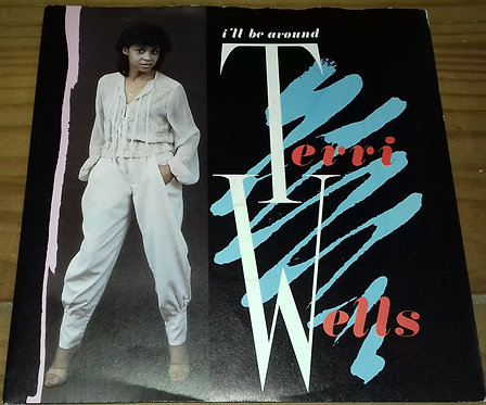 "Terri Wells - I'll Be Around (7"", Single) (London Records, London Records, Phill"