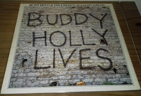 Buddy Holly & The Crickets (2) - 20 Golden Greats (LP, Comp) (MCA Records, MCA
