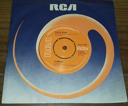 "David Bowie - Starman (7"", Single, Pus) (RCA Victor)"