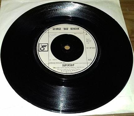 "George 'Bad' Benson* - Supership (7"") (CTI Records)"