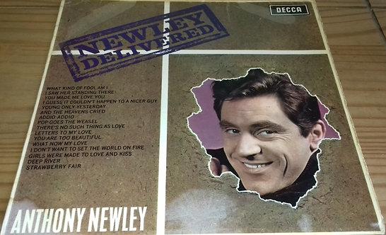 Anthony Newley - Newley Delivered (LP, Album, Mono) (Decca, Decca)