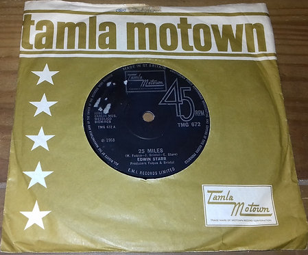 "Edwin Starr - 25 Miles (7"", Single, RE, Sol) (Tamla Motown)"