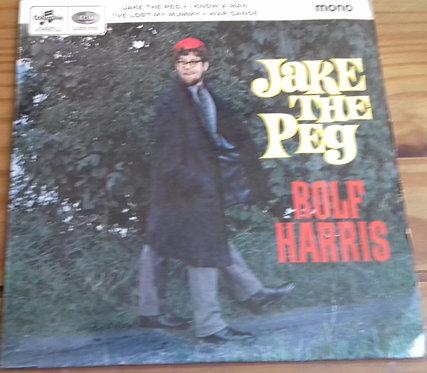 "Rolf Harris - Jake The Peg (7"", Mono) (Columbia)"