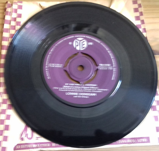"""Lonnie Donegan And His Group* - My Old Man's A Dustman (7"""", Single) (Pye Records"""