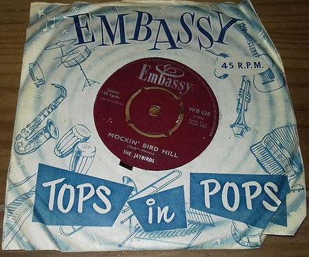 "The Jaybirds - Mockin' Bird Hill / Hubble Bubble (Toil & Trouble) (7"", Single)"