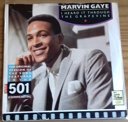 "Marvin Gaye - I Heard It Through The Grapevine / Can I Get A Witness (7"", Single"