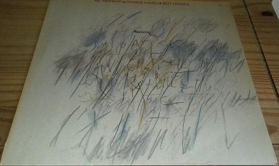 Pat Metheny w/ Charlie Haden & Billy Higgins - Rejoicing (LP, Album) (ECM Recor