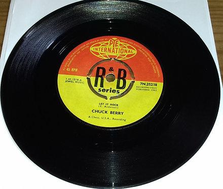 "Chuck Berry - Let It Rock / Memphis Tennessee (7"") (Pye International)"