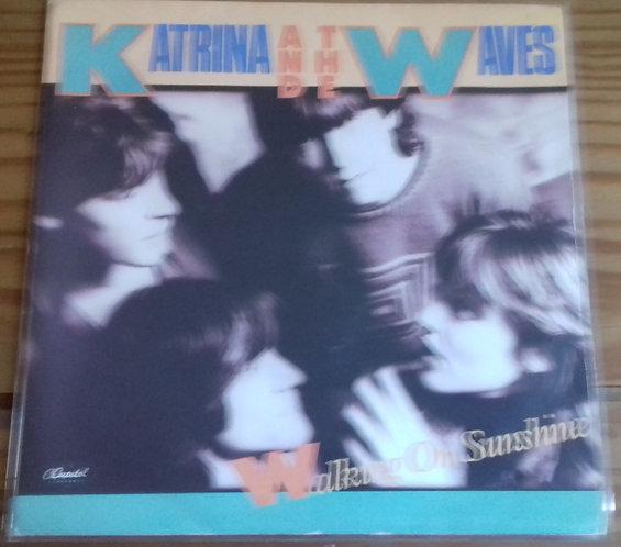 "Katrina And The Waves - Walking On Sunshine (7"", Single) (Capitol Records)"