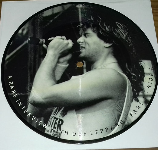 """Def Leppard - A Rare Interview With Def Leppard (4x7"""", Ltd, Pic, Unofficial) (Ba"""