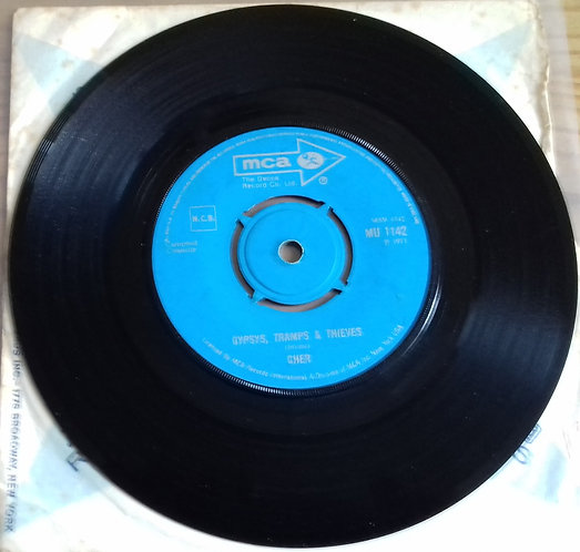 """Cher - Gypsys, Tramps & Thieves (7"""", Single) (MCA Records)"""