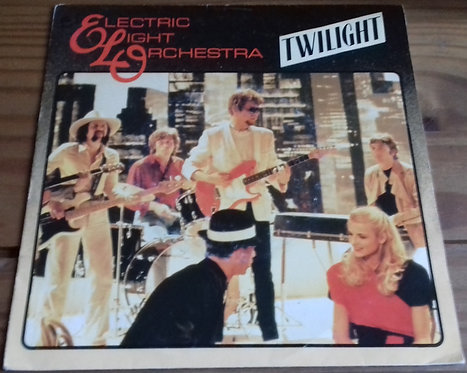 """Electric Light Orchestra - Twilight (7"""", Single, Sol) (Jet Records)"""