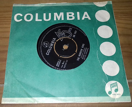 """Brian Howard With The Silhouettes* - The Worryin' Kind (7"""") (Columbia)"""