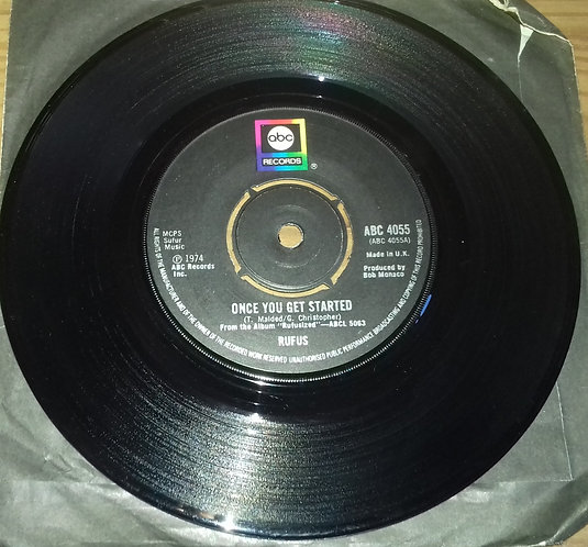 """Rufus - Once You Get Started / Right Is Right (7"""", Single) (ABC Records)"""