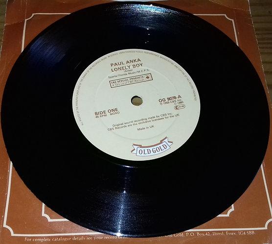 "Paul Anka - Lonely Boy (7"", Mono) (Old Gold (2))"