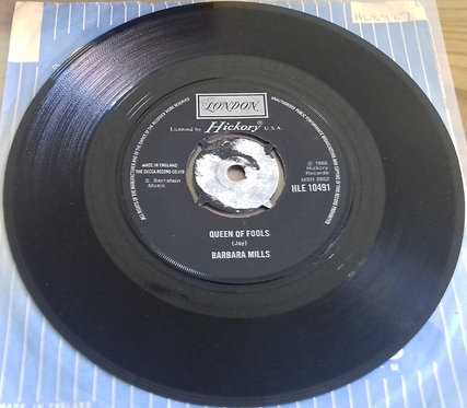 "Barbara Mills - Queen Of Fools (7"", Single, RE) (London Records)"