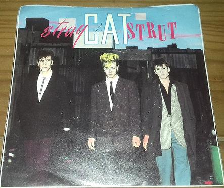 """Stray Cats - Stray Cat Strut (7"""", Single, Sil) (Arista)"""