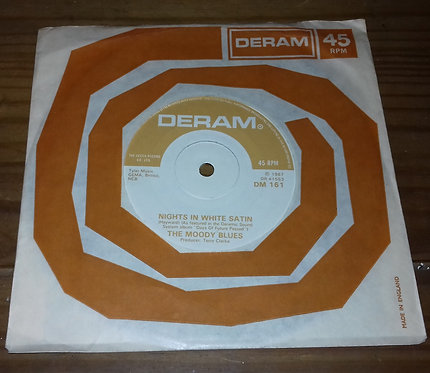 "The Moody Blues - Nights In White Satin (7"", Single, RE, Sol) (Deram)"