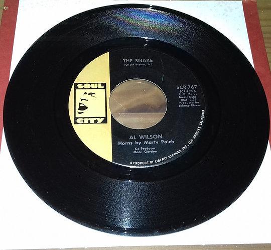 "Al Wilson - The Snake (7"", Single) (Soul City (2))"