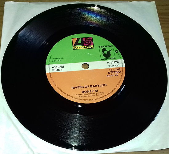 "Boney M* - Rivers Of Babylon (7"", Single) (Atlantic, Hansa)"