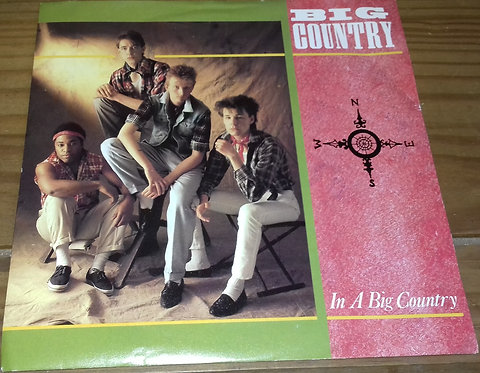 "Big Country - In A Big Country (7"", Single, Sil) (Mercury, Phonogram)"