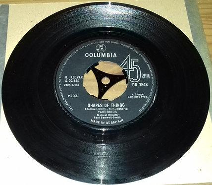 "Yardbirds* - Shapes Of Things (7"", Single) (Columbia)"